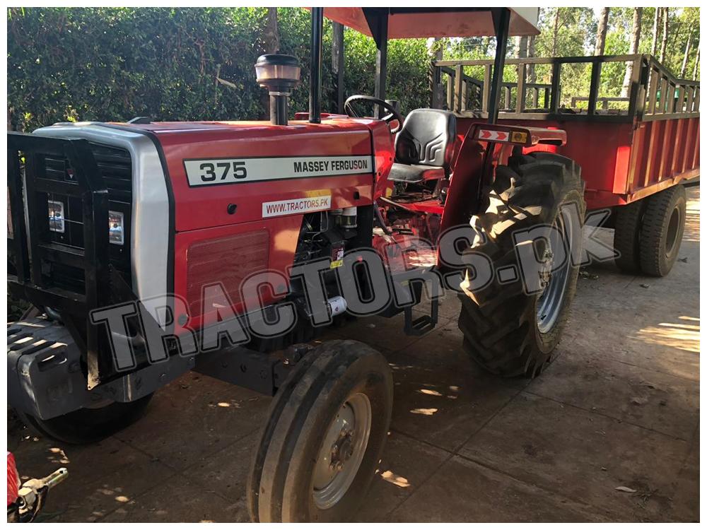Massey Ferguson 375 Tractor in Botswana